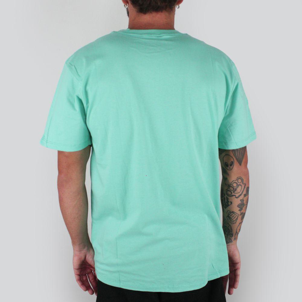Camiseta Vans Authentic Checker Verde