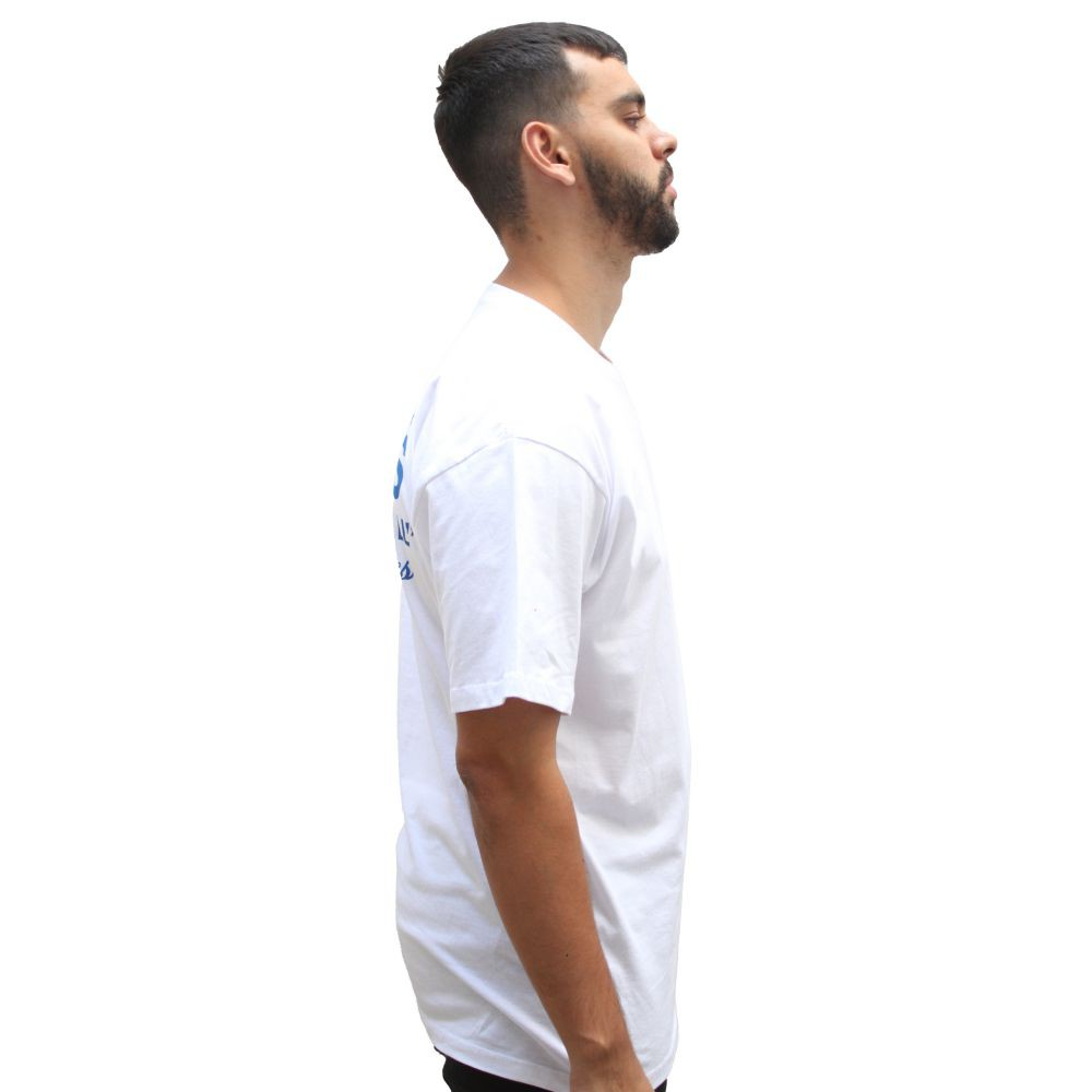Camiseta Vans Authentic Off The Wall White