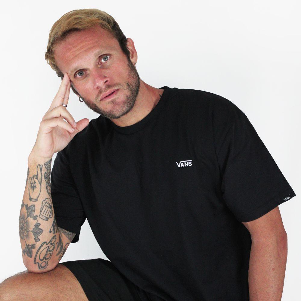Camiseta Vans Basic Preto