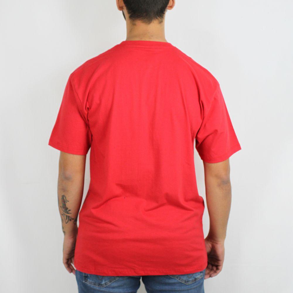 Camiseta Vans Basic Vermelha