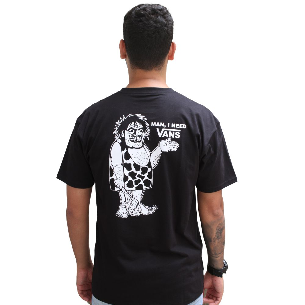 Camiseta Vans Caveman Needs Black