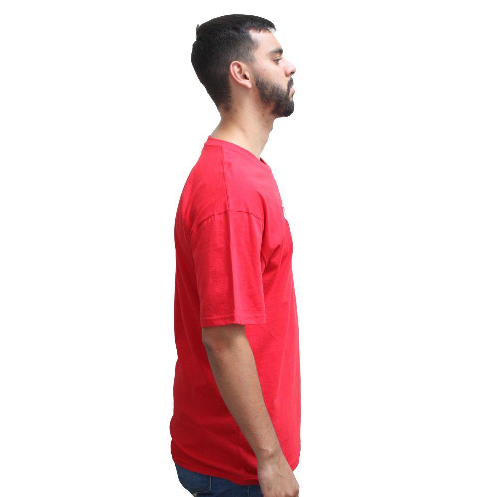 Camiseta Vans Full Patch Cardinal
