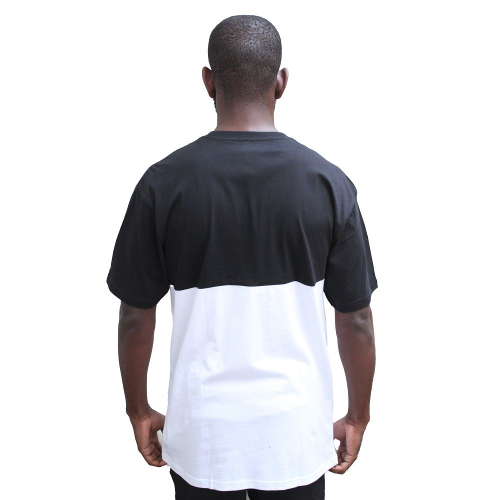 Camiseta Vans Color block Tee Black/White