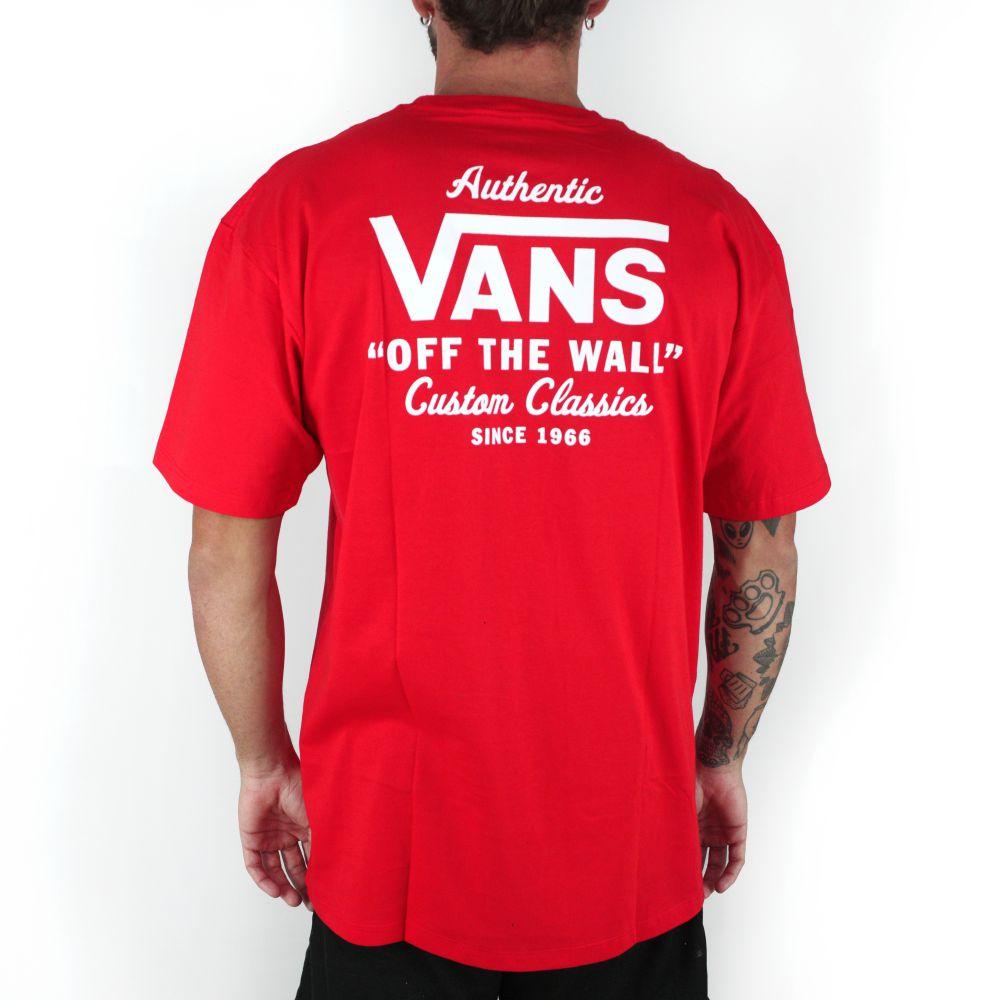 Camiseta Vans High Risk Vermelho