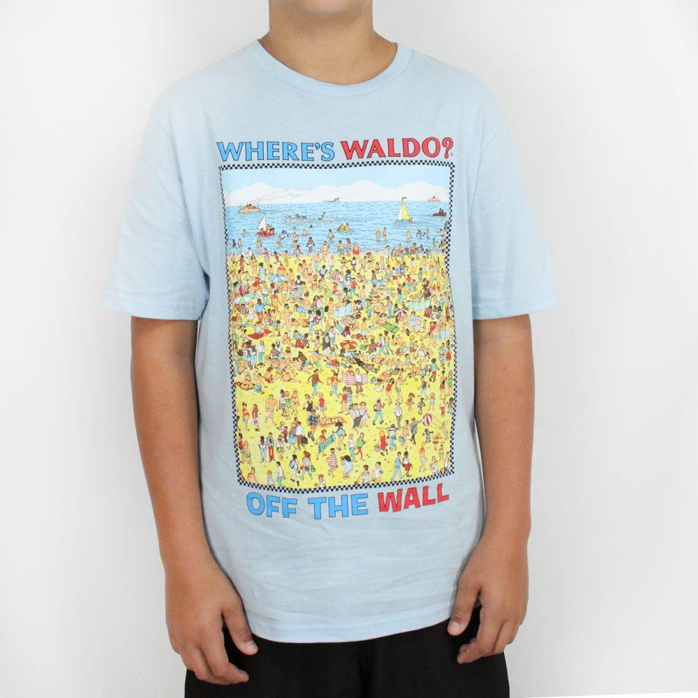 Camiseta Vans Juvenil OTW Onde Está Wally