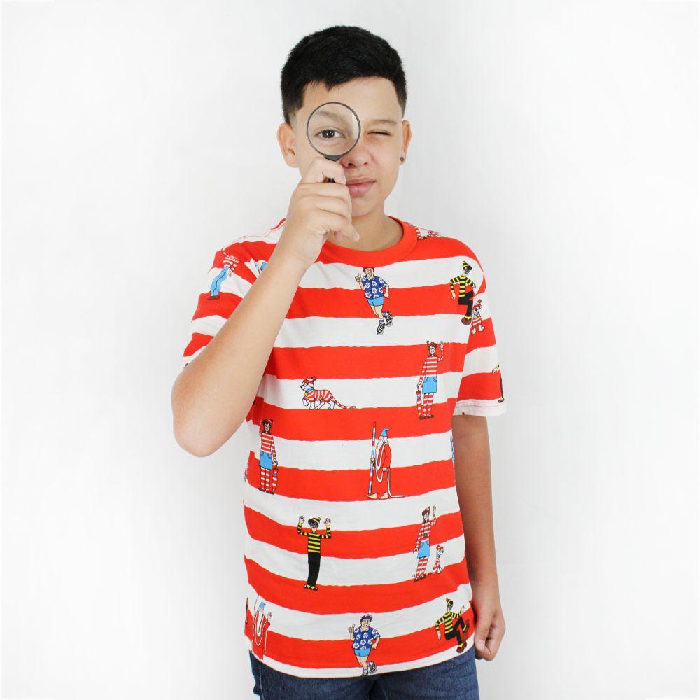 Camiseta Vans Juvenil Wally