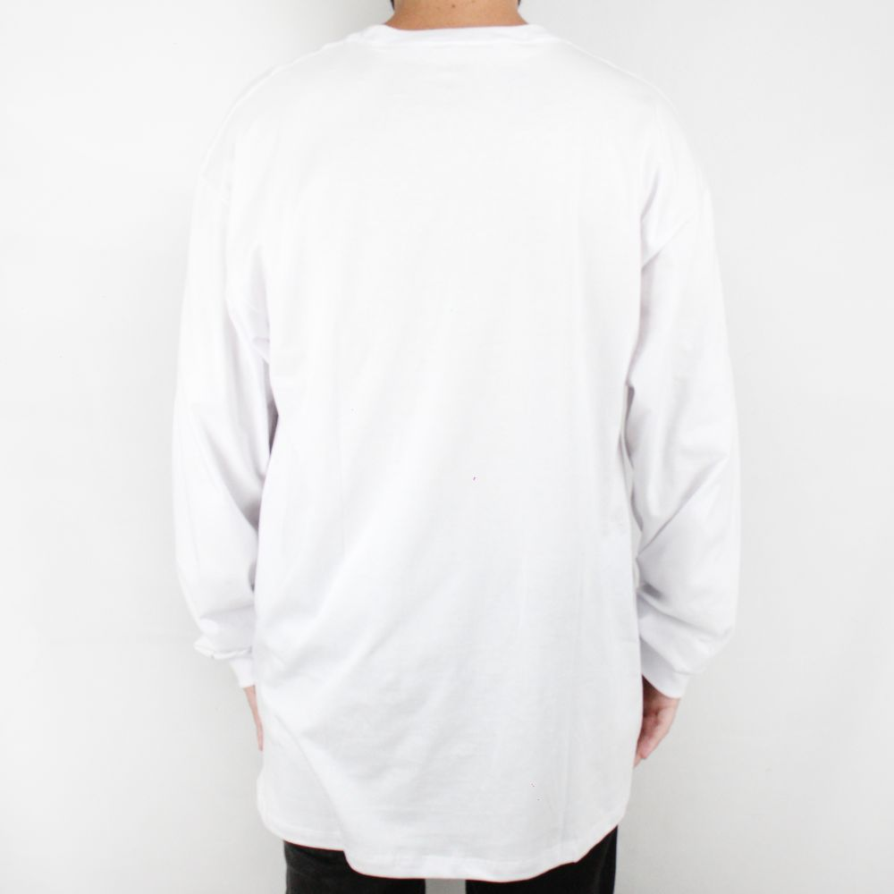 Camiseta Vans Manga Longa Classic Branco