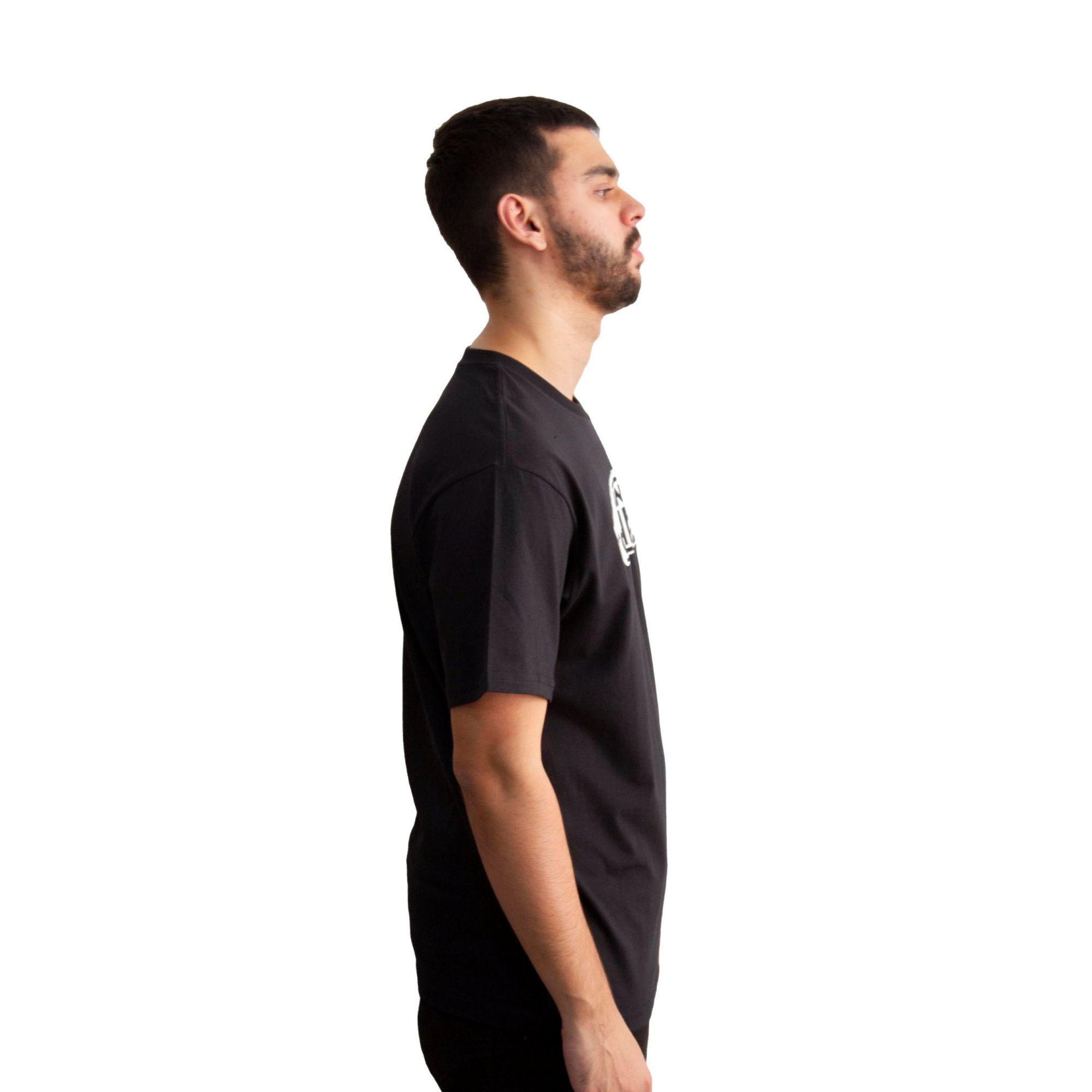 Camiseta Vans Off The Wall Preta