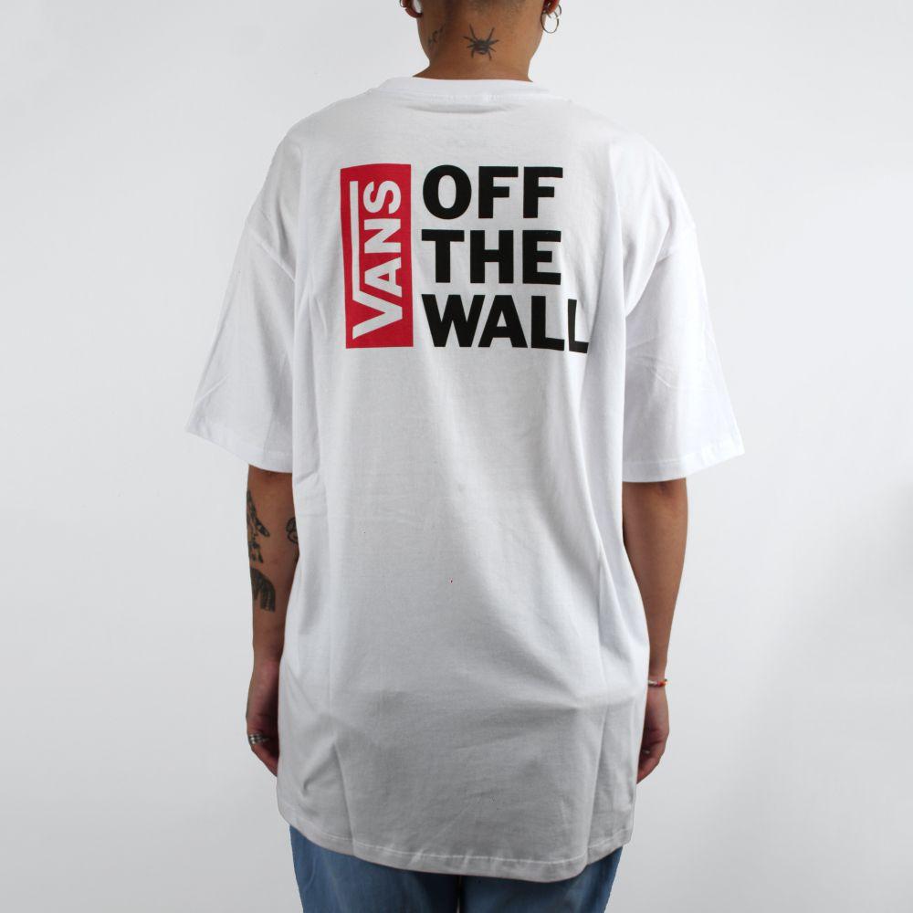 Camiseta Vans Logo Off the Wall