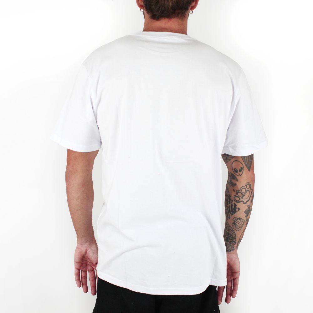 Camiseta Vans Print Box Branco