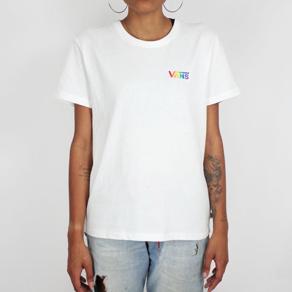 Camiseta Vans Prism Crew Pride