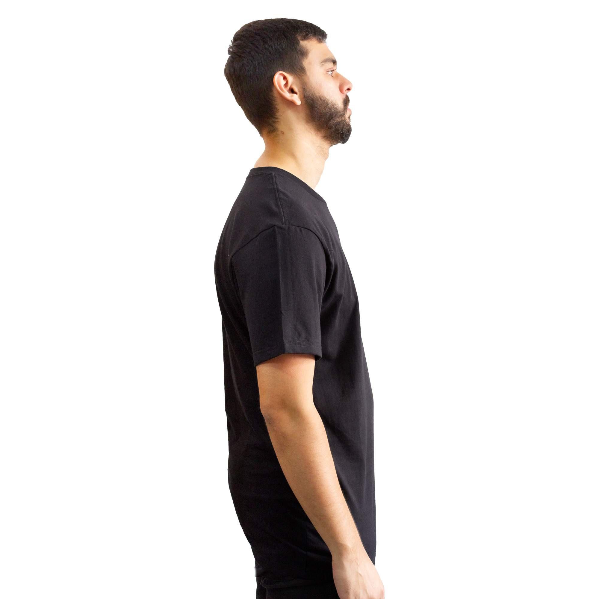 Camiseta Vans Slim Fit Black