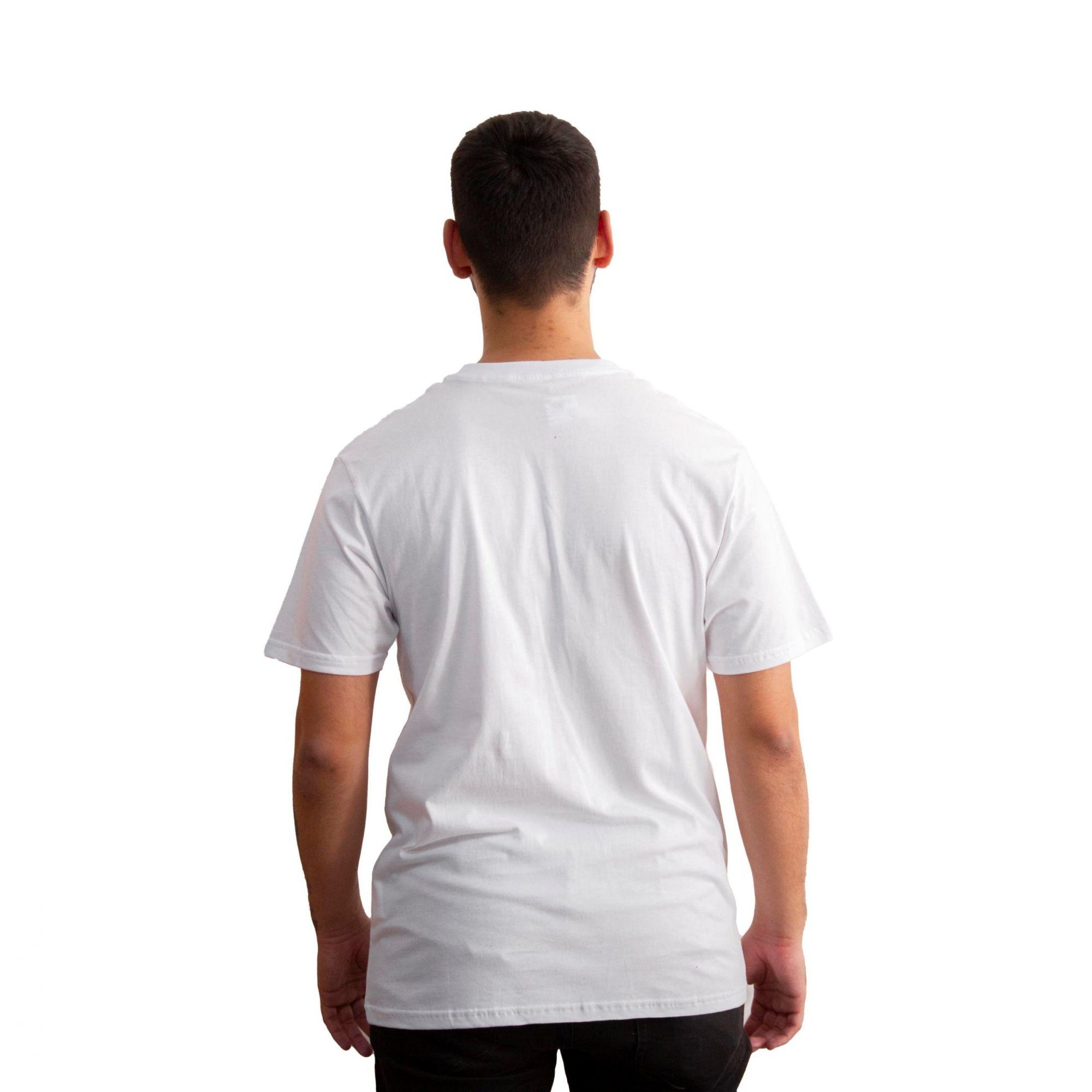 Camiseta Vans Slim Fit White