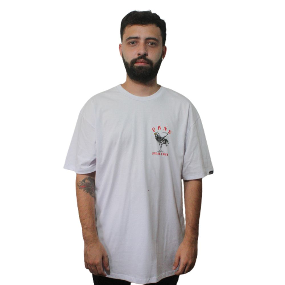 Camiseta Vans Speak Easy SS Branco