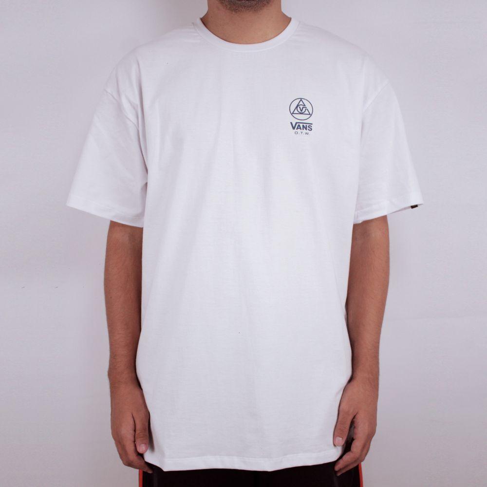 Camiseta Vans Three Points SS Branco