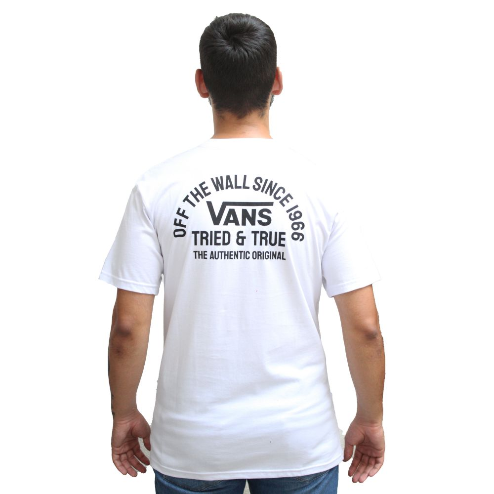 Camiseta Vans Tried & True White