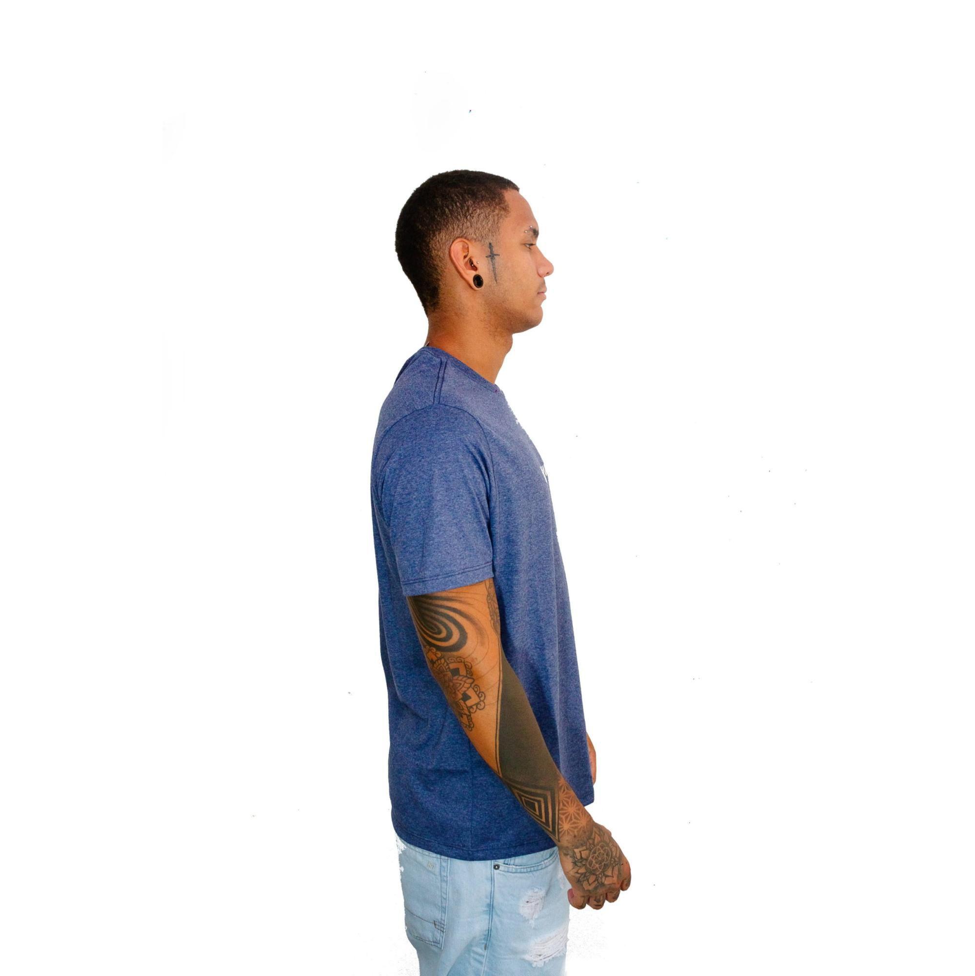 Camiseta WG Basic Indigo Mescla