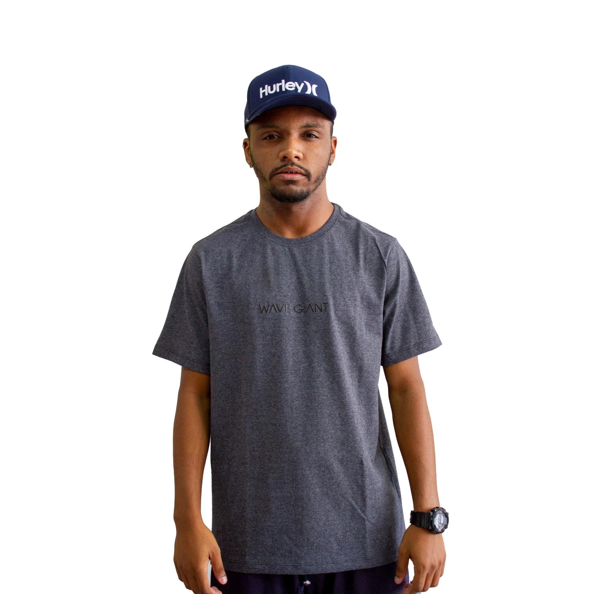 Camiseta WG Basic Preto Mescla