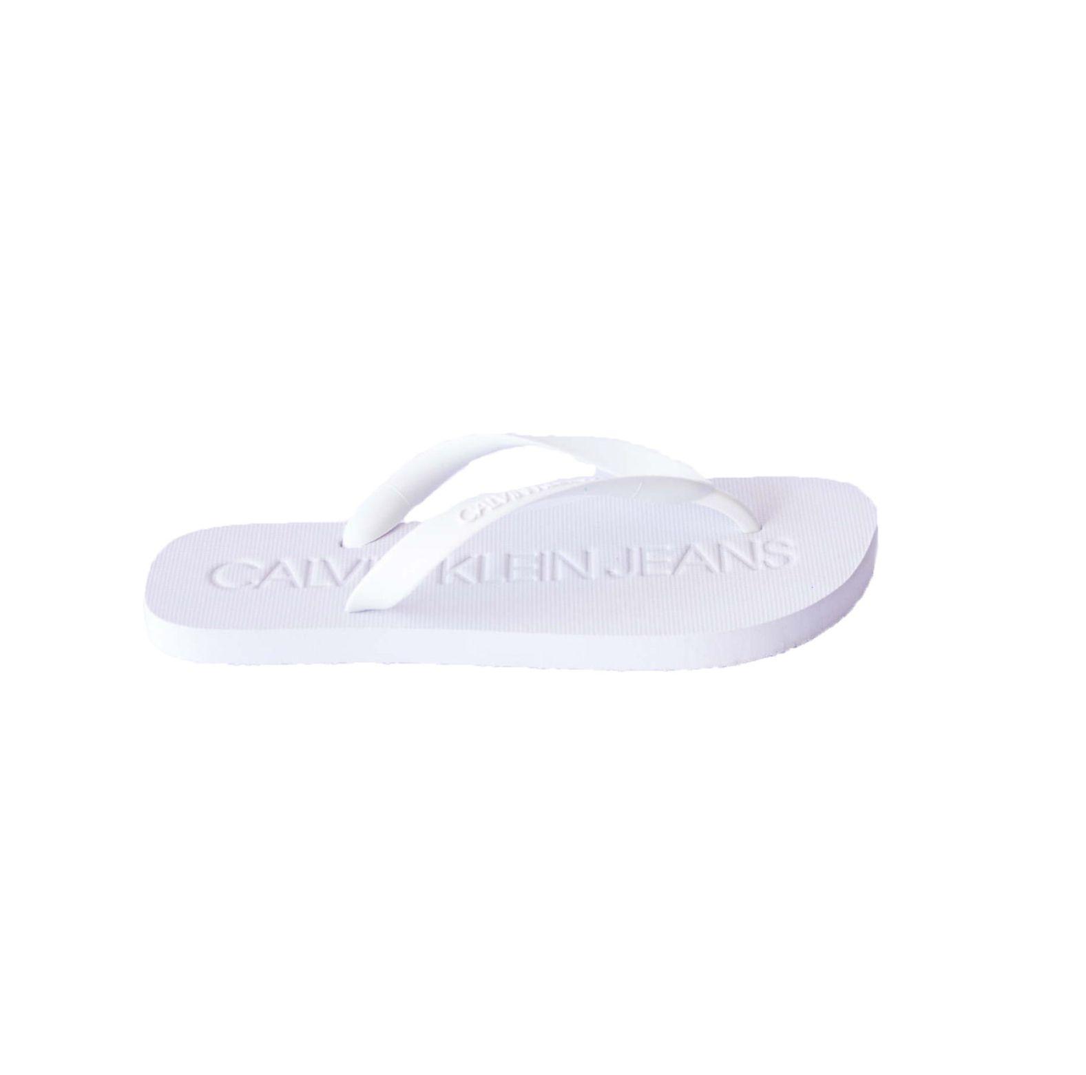 Chinelo Calvin Klein Jeans Branco