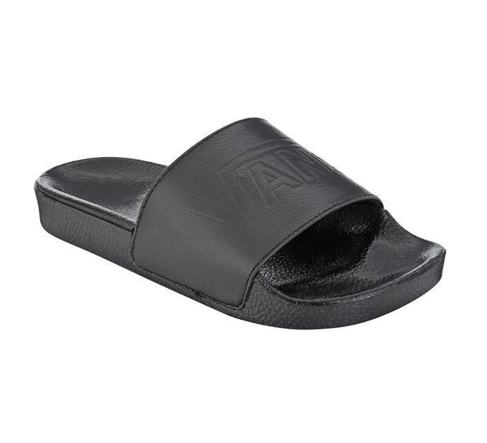 Chinelo Slide Vans Black-Black