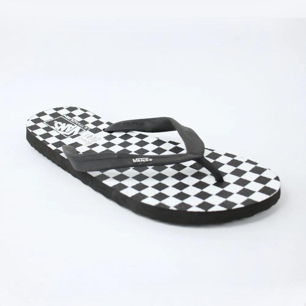 Chinelo Vans Makena Checkerboard