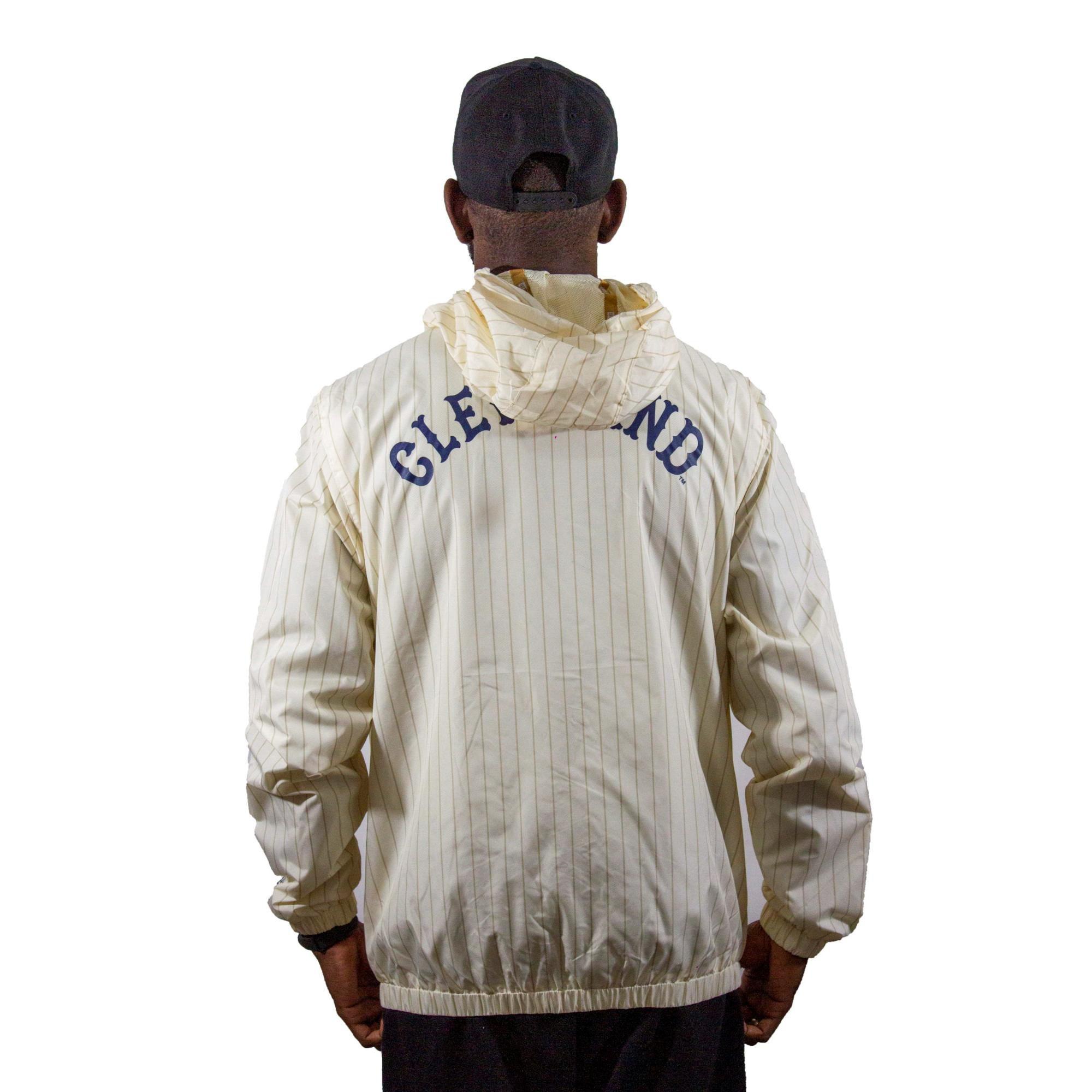Corta Vento New Era Cleveland Off White