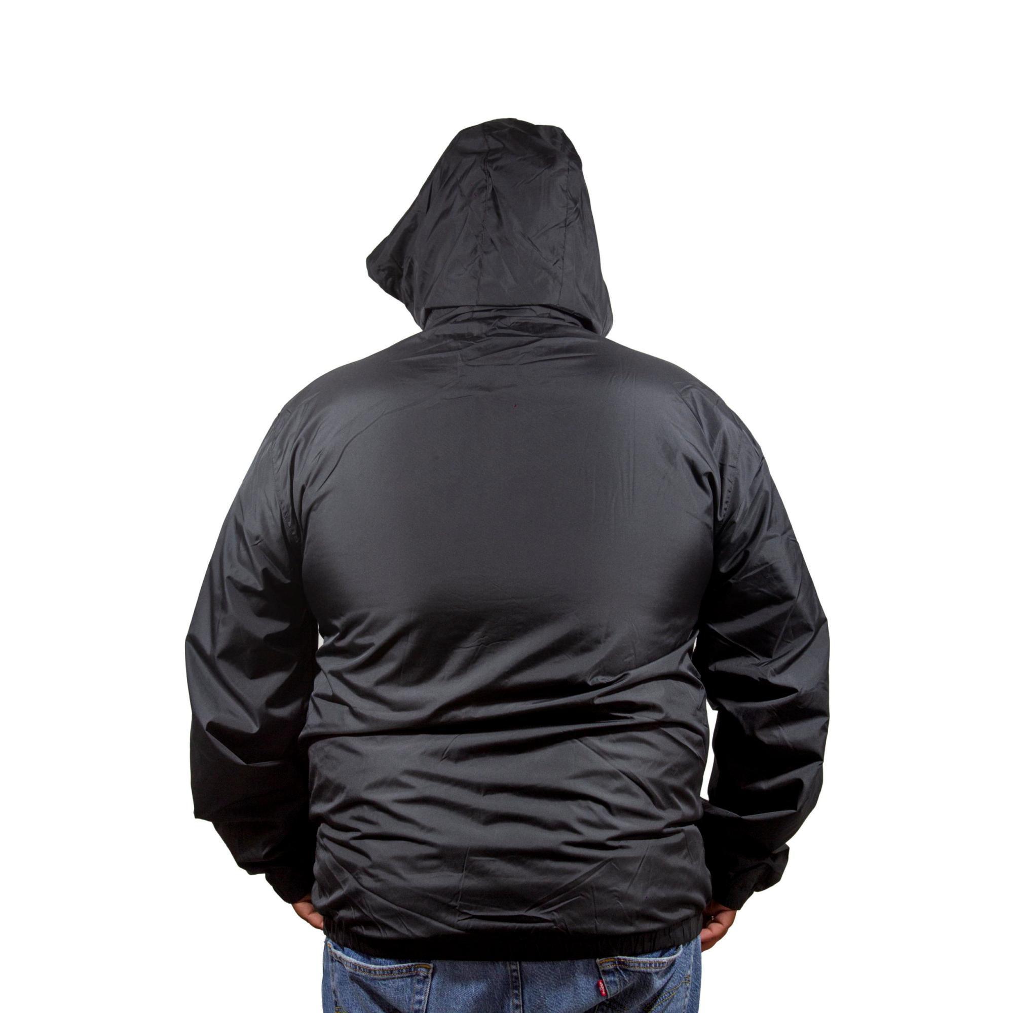 Jaqueta Corta Vento New Era Sazonal Plus Size Preto