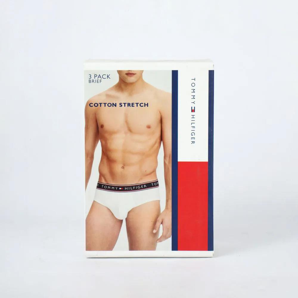 Cueca Boxer Tommy Hilfiger Kit c/ 3 Branca