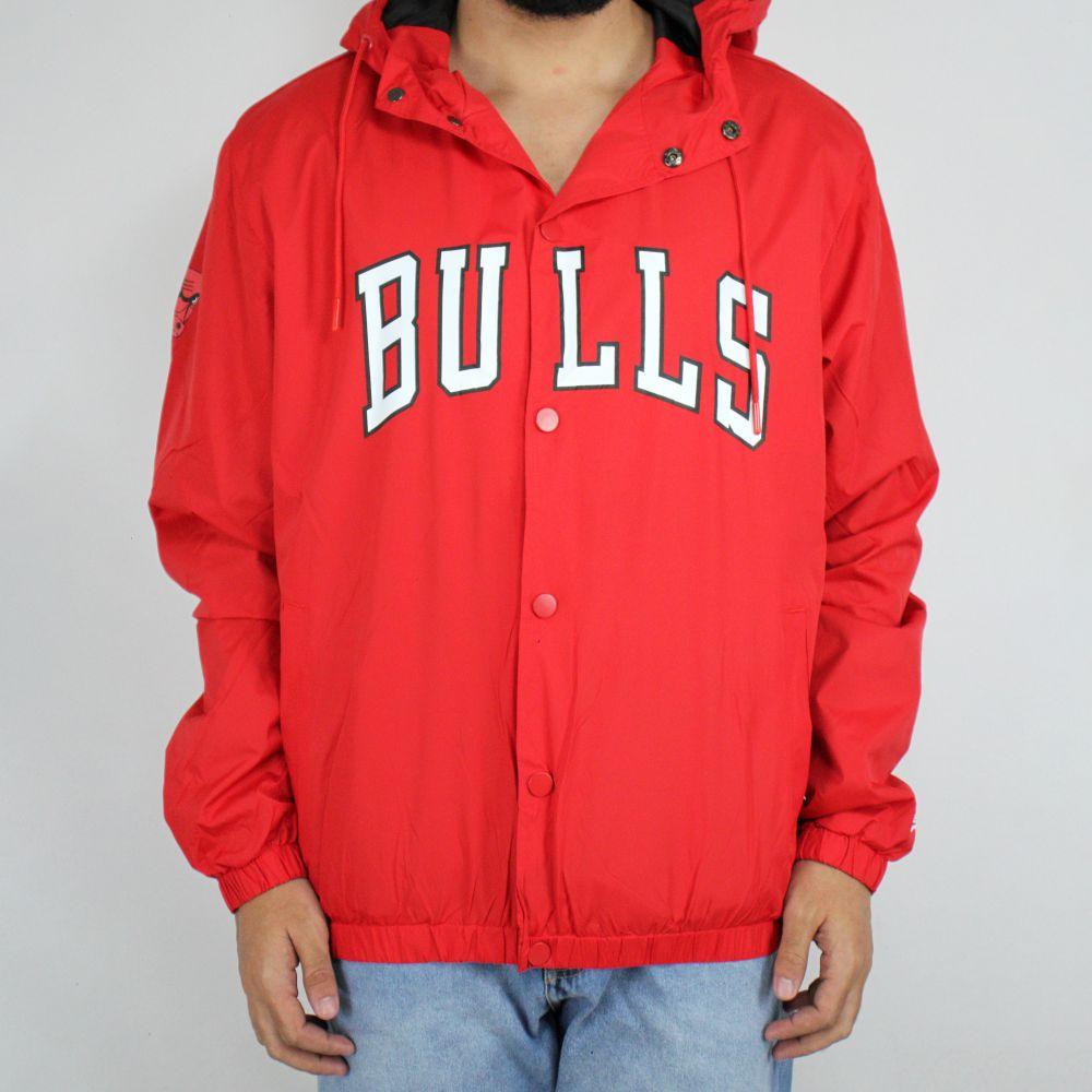 Jaqueta Corta Vento New Era Bulls Vermelho