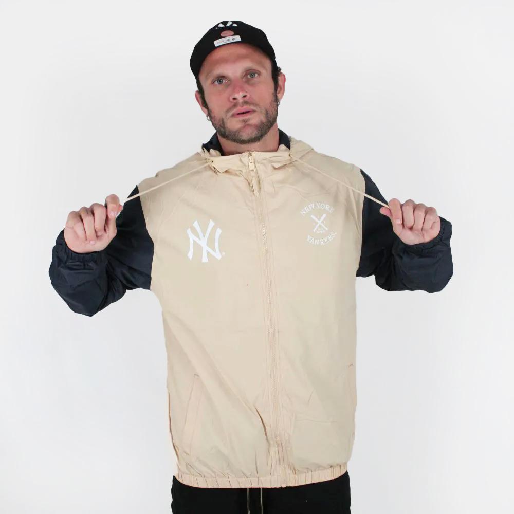 Jaqueta Corta Vento New Era College NY Yankees