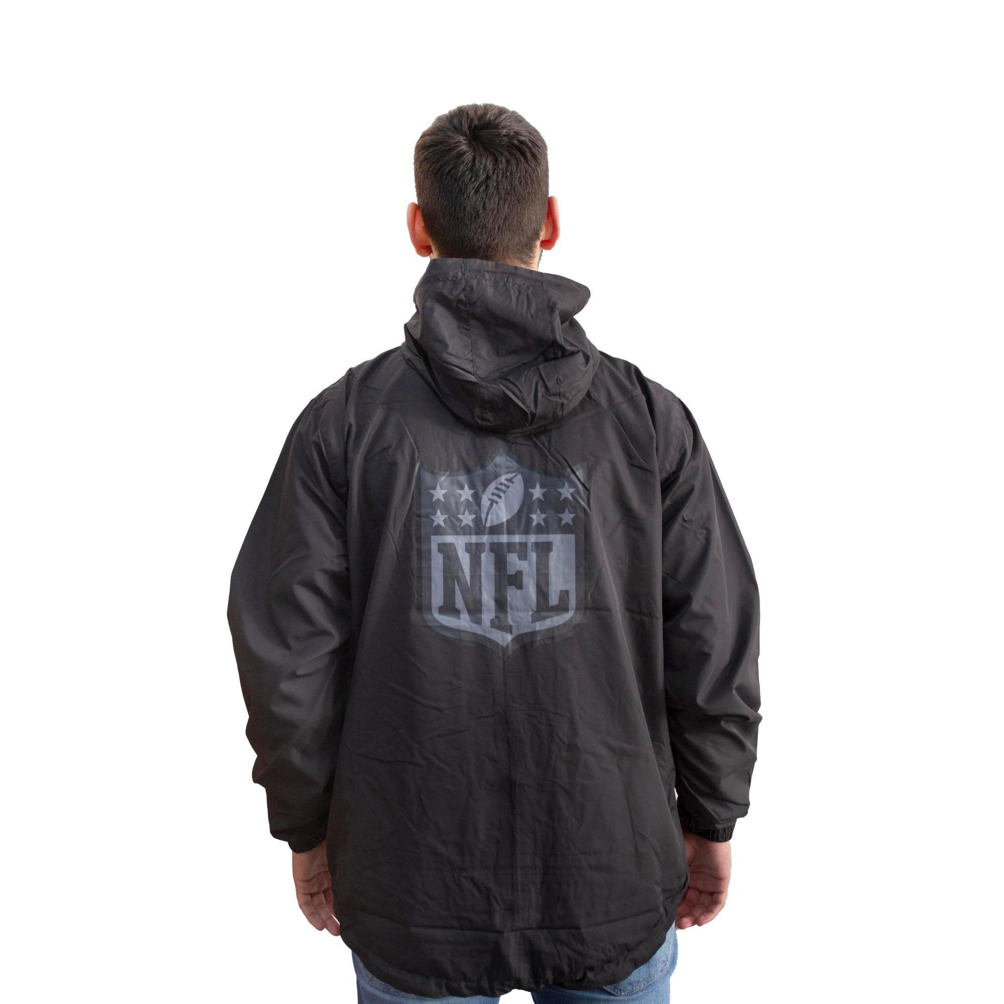 Jaqueta Corta Vento New Era NFL Preta