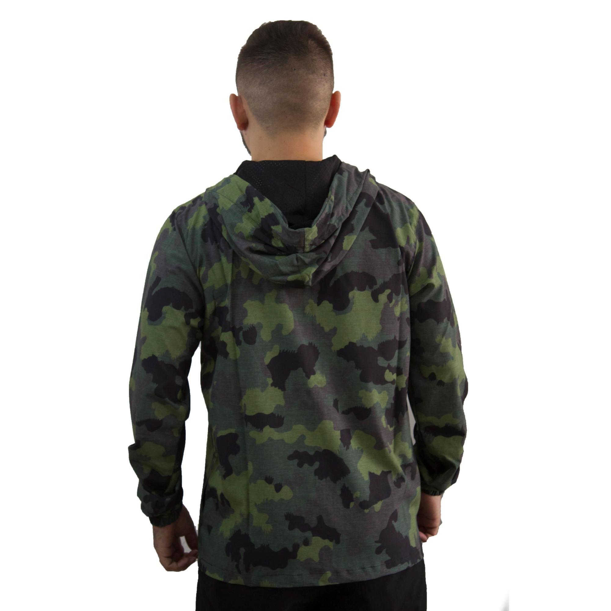Jaqueta Hurley Camuflado verde