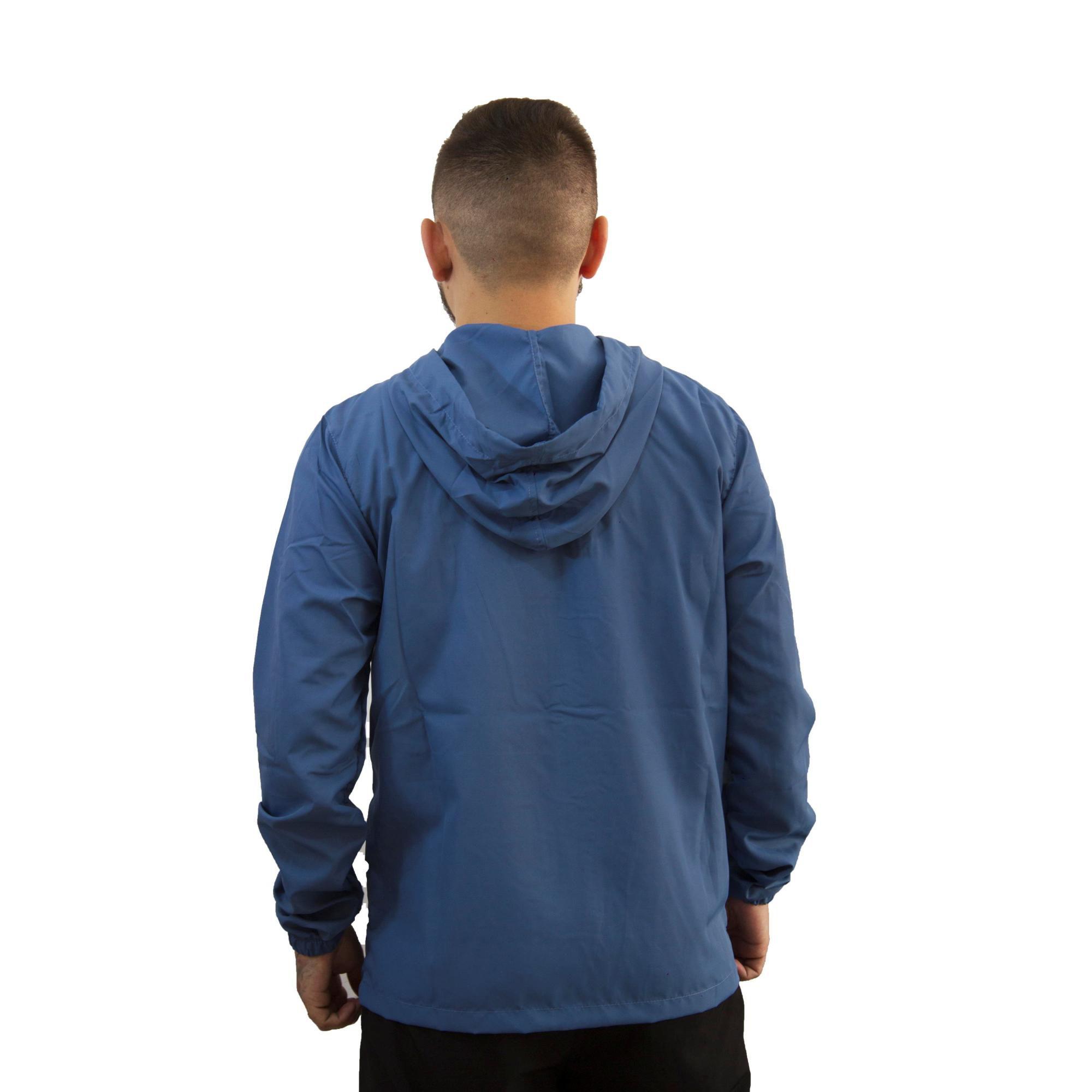 Jaqueta Hurley Corta Vento Azul