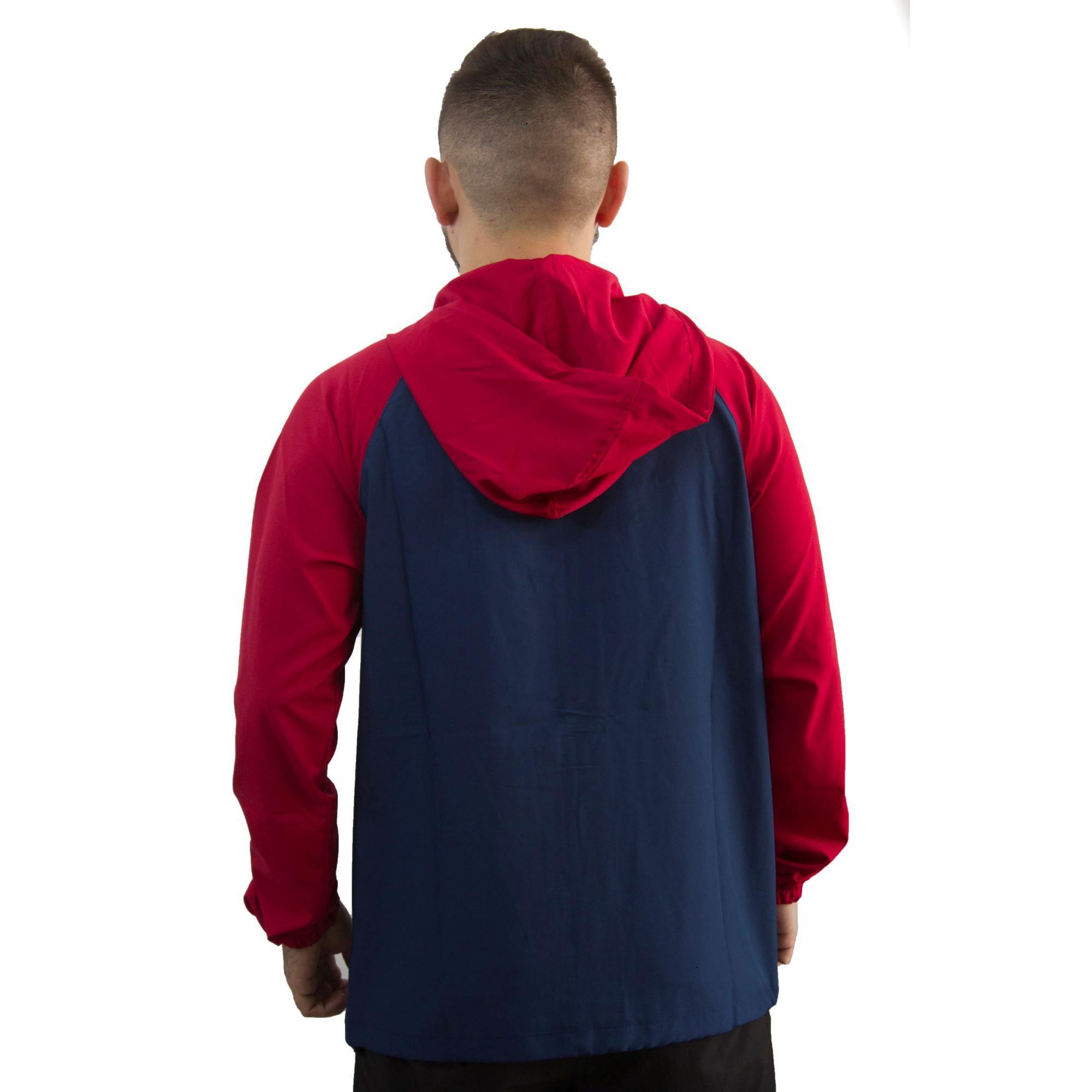 Jaqueta Hurley Marinho / Vermelho