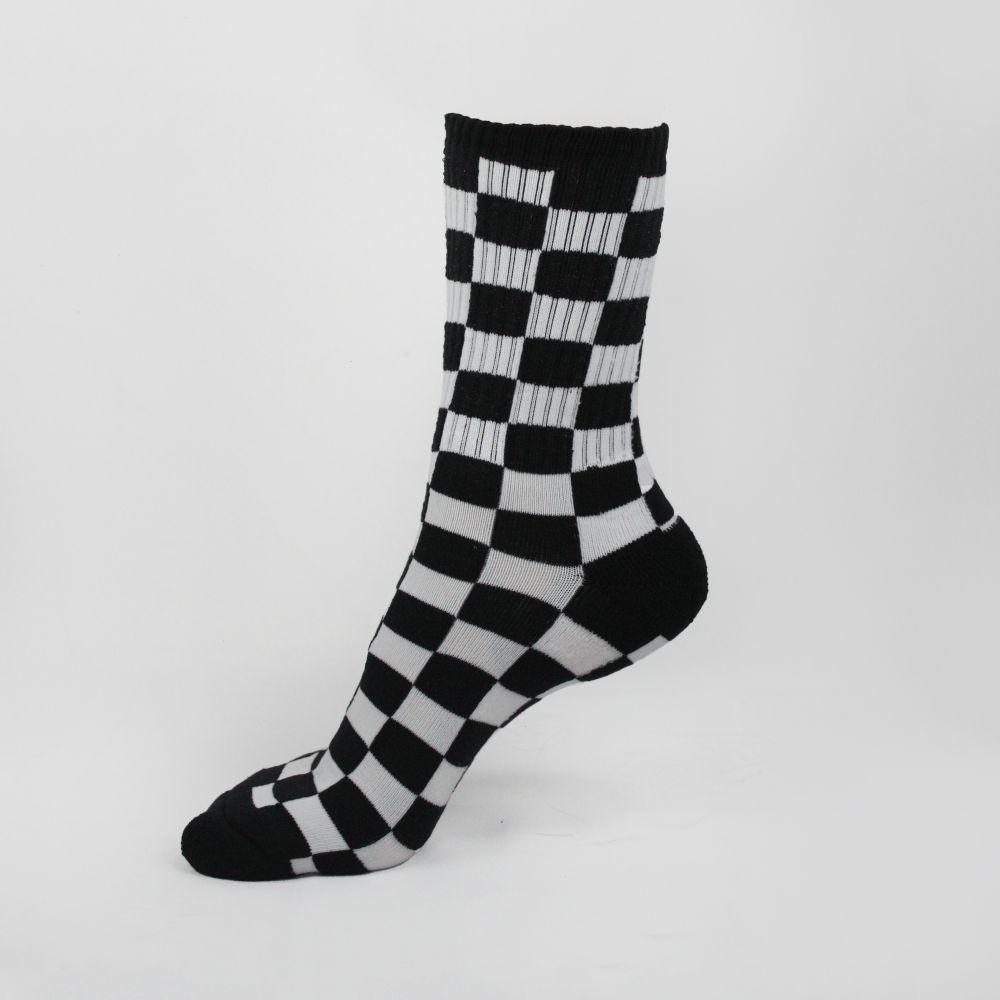 Meias Vans Checkerboard Crew