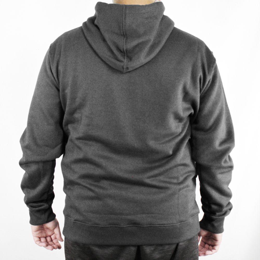 Moletom Hurley Canguru Mini Logo Plus Size Preto
