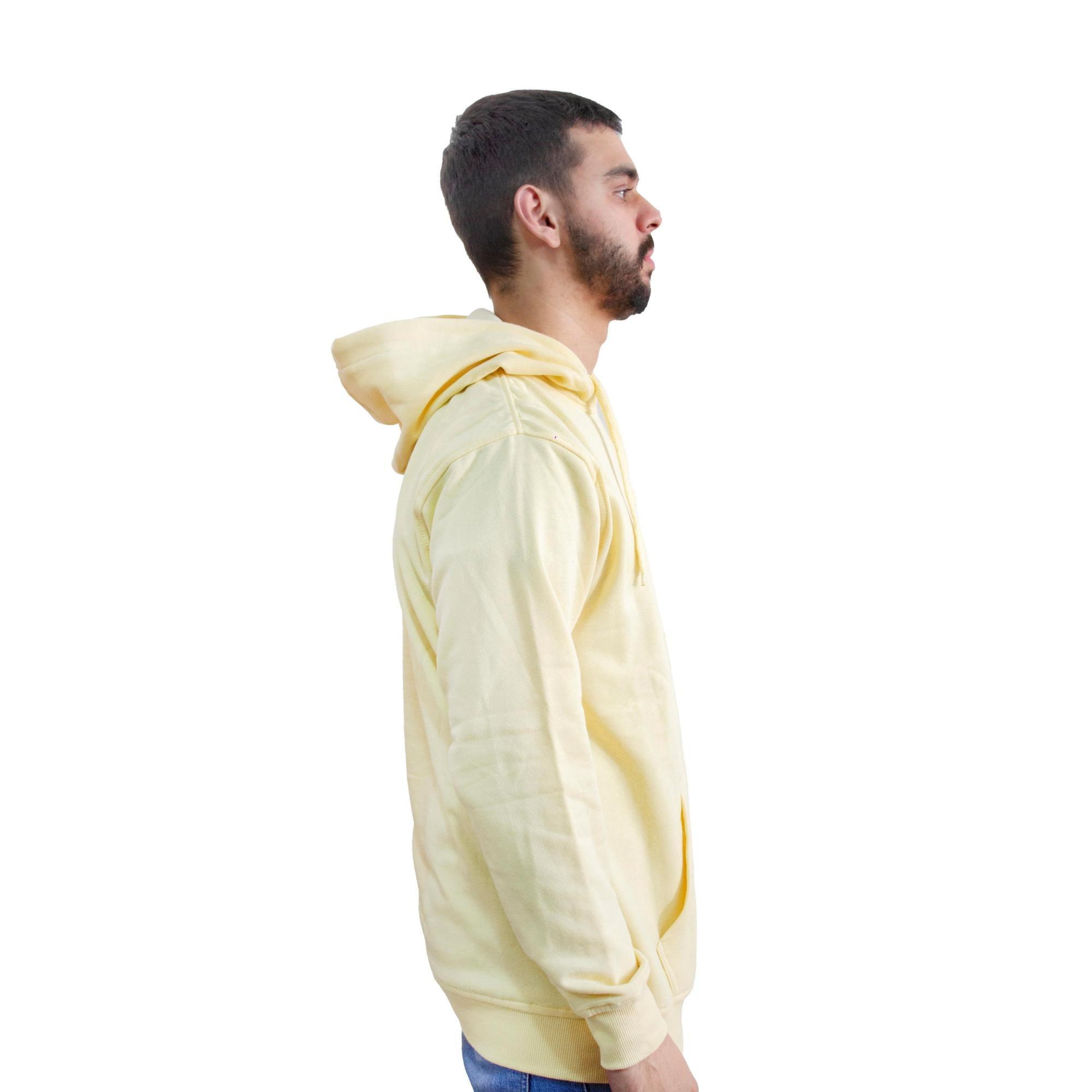 Moletom New Era Canguru NY Amarelo