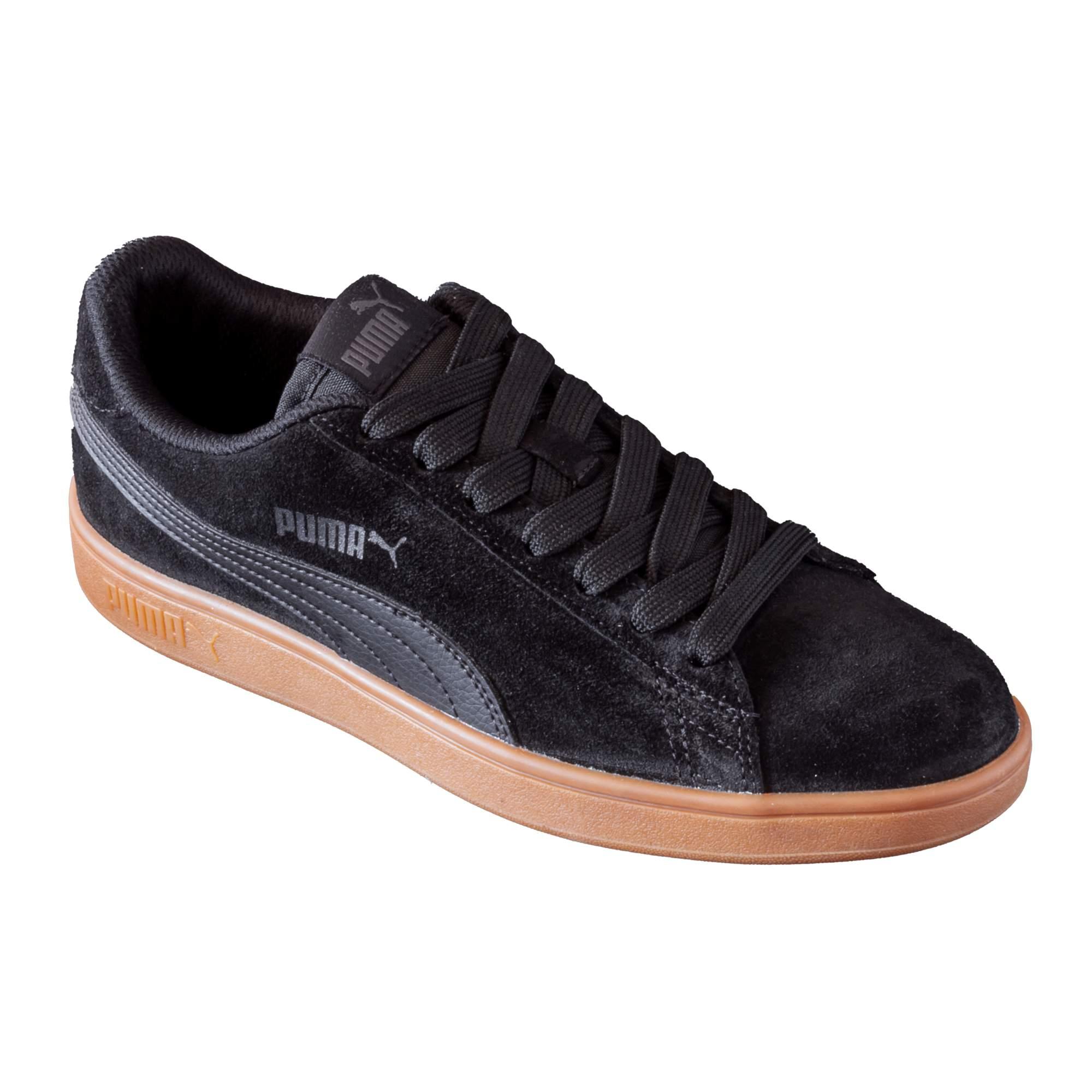 Tênis Puma Smash V2 Black Gum