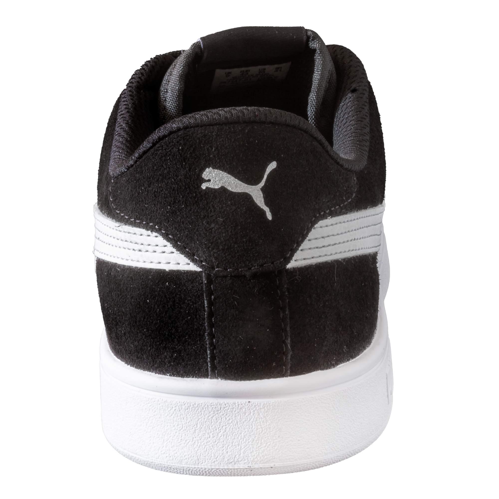 Tênis Puma Smash V2 Black White