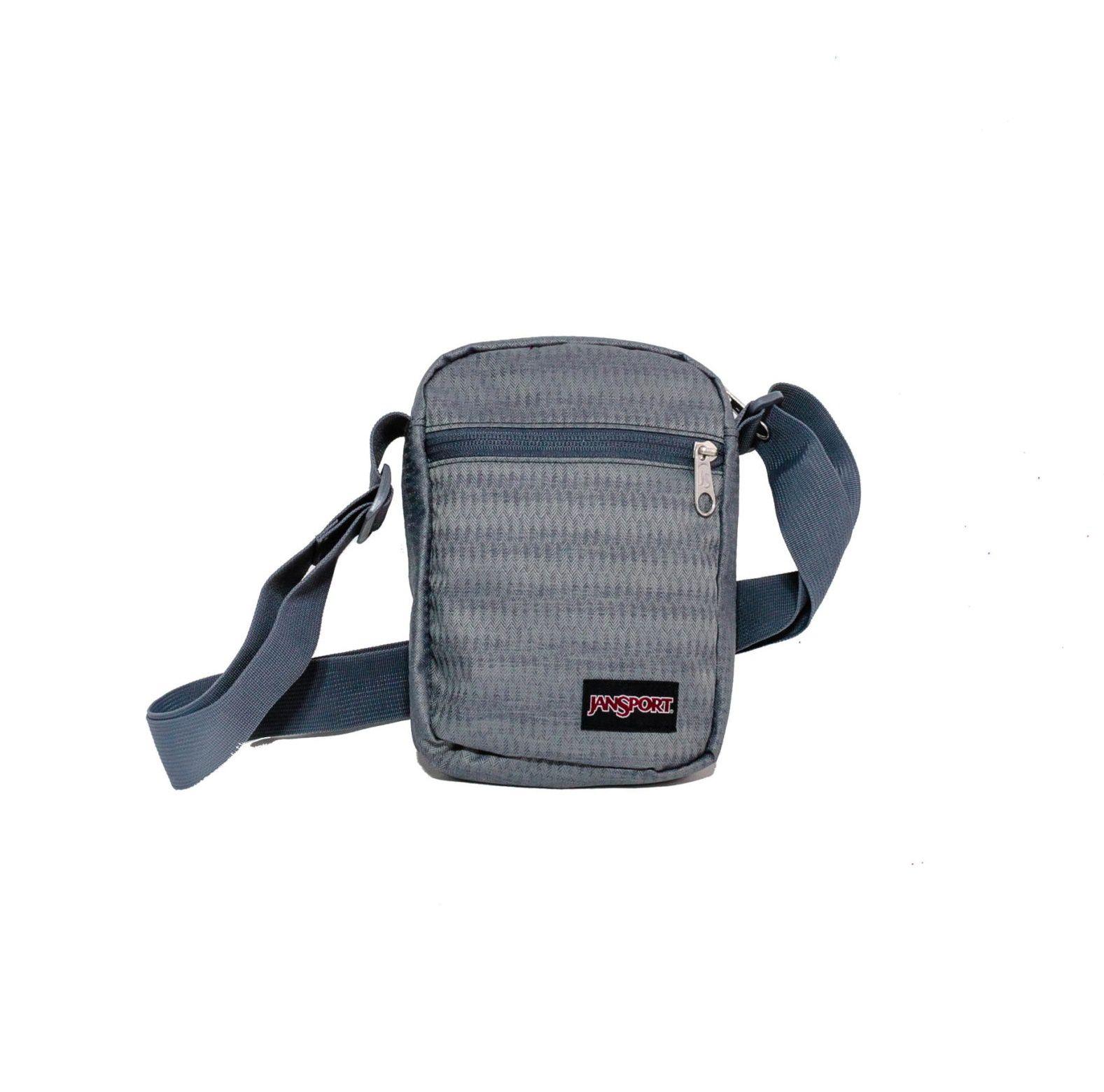 Shoulder Bag Jansport Cinza Mescla