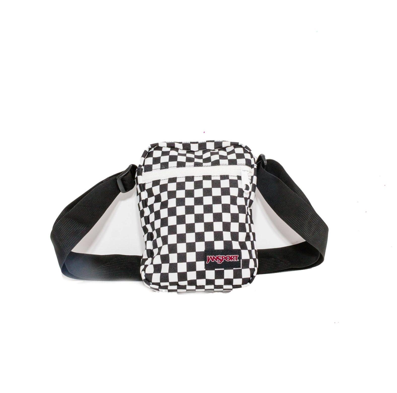 Shoulder Bag Jansport Quadriculada