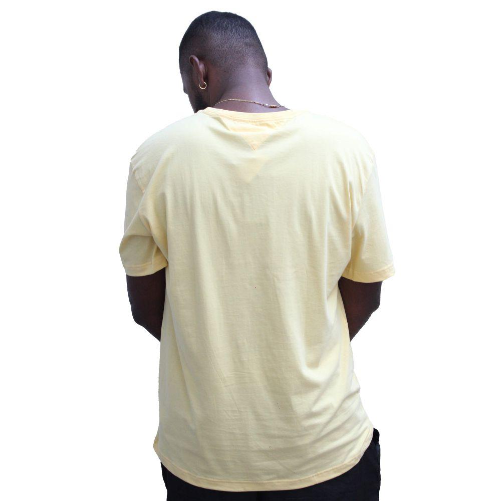 T-shirt Tommy Amarela