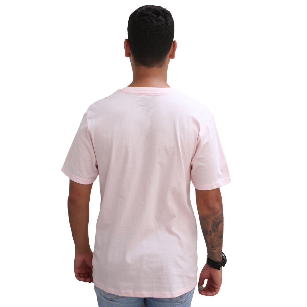 T-shirt Vans Rosa Bordado
