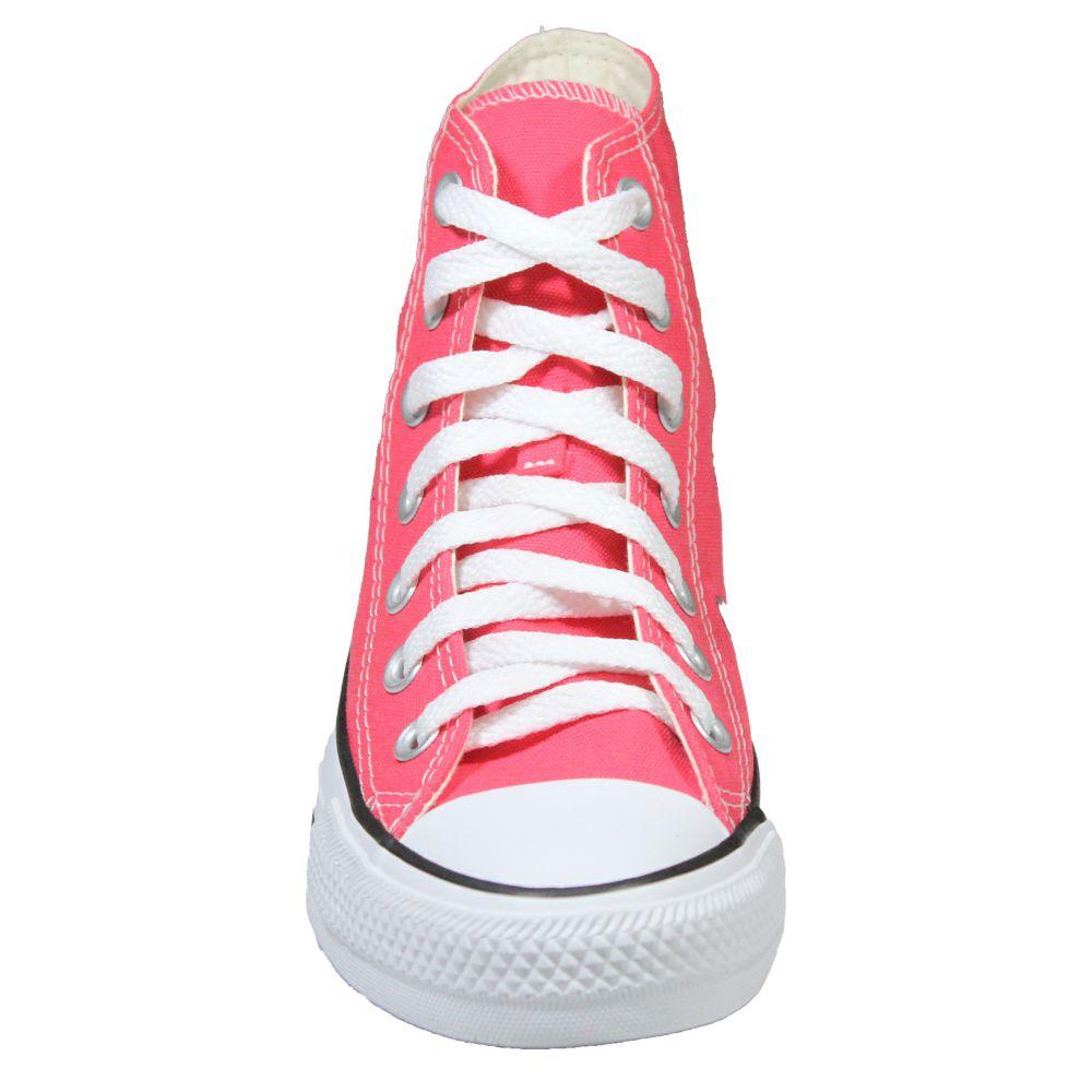 Tênis Converse All Star Chuck Taylor Pink Cano Longo
