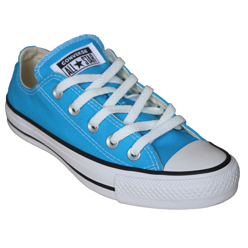 Tênis Converse All Star Chuck Taylor Azul Água Cano Baixo