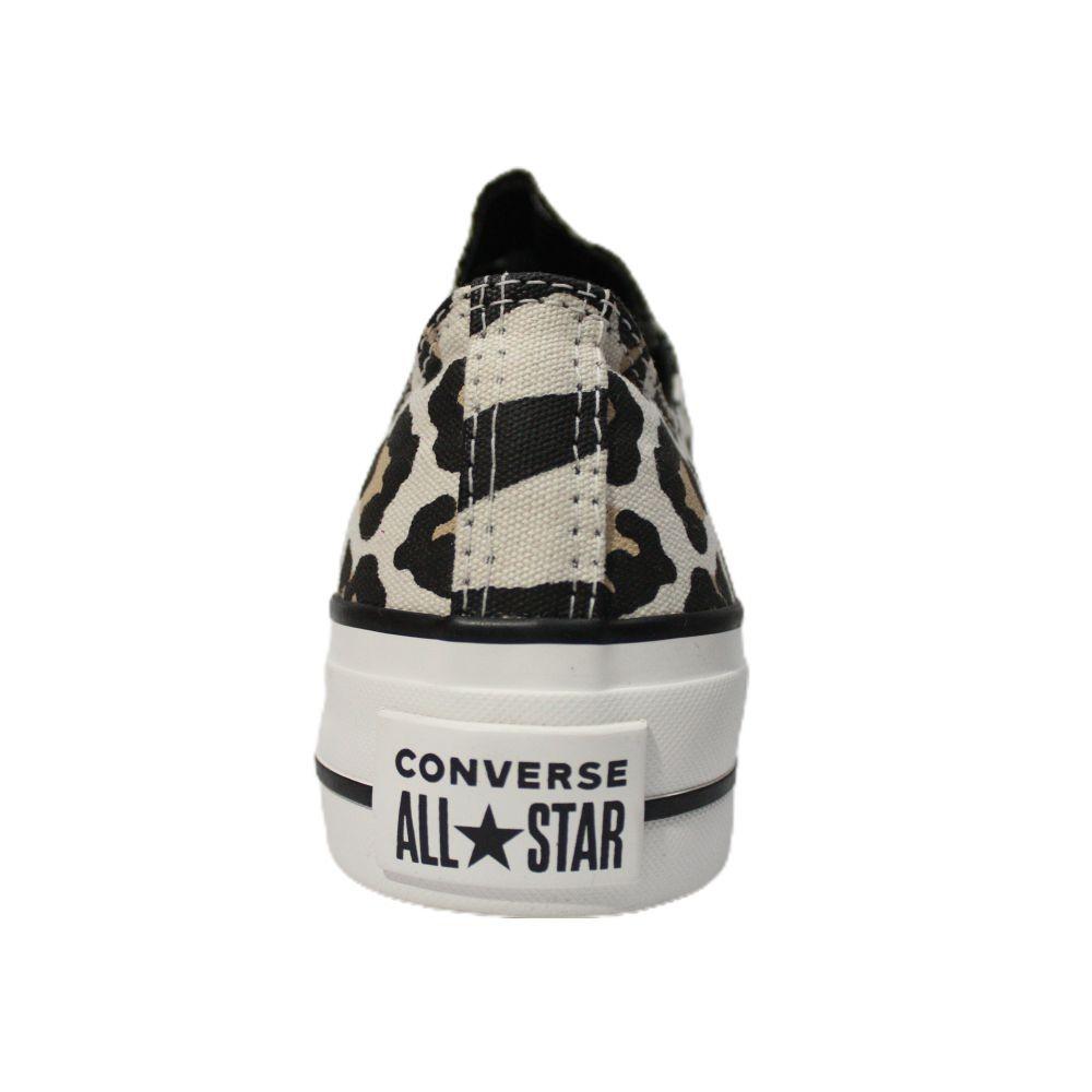 Tênis Converse All Star Chuck Taylor Onça Plataforma