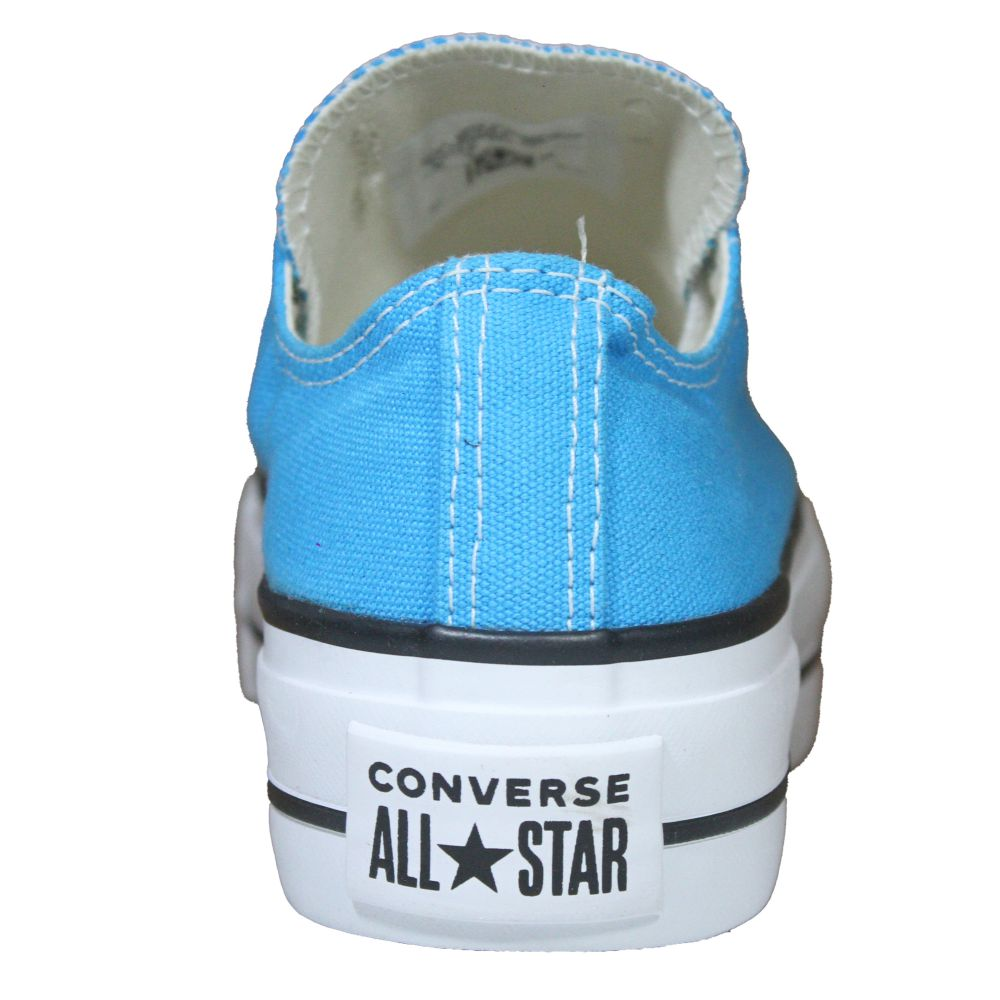 Tênis Converse All Star Chuck Taylor Plataforma Azul Água