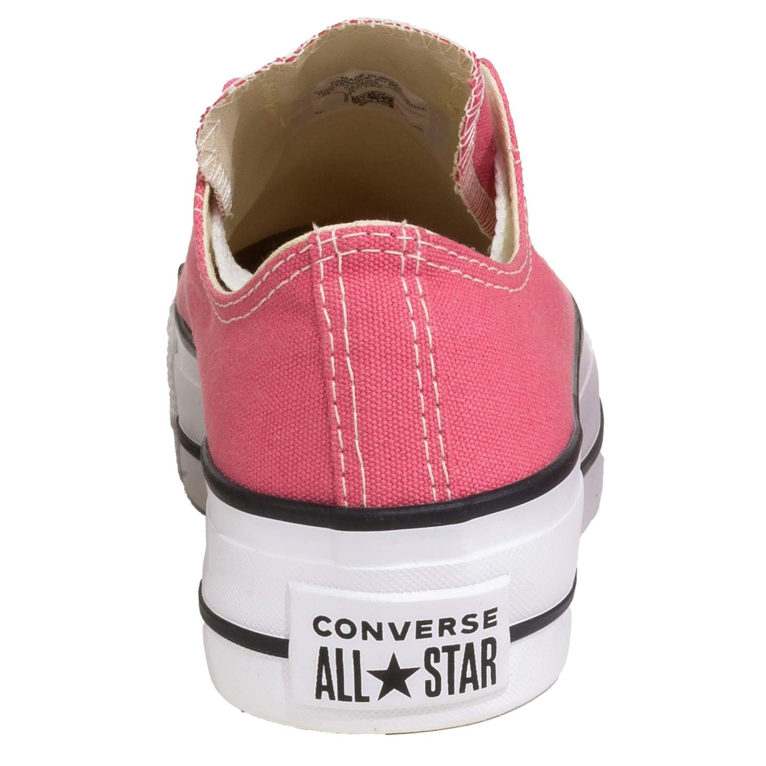 Tênis Converse All Star Chuck Taylor Plataforma Rosa Palido