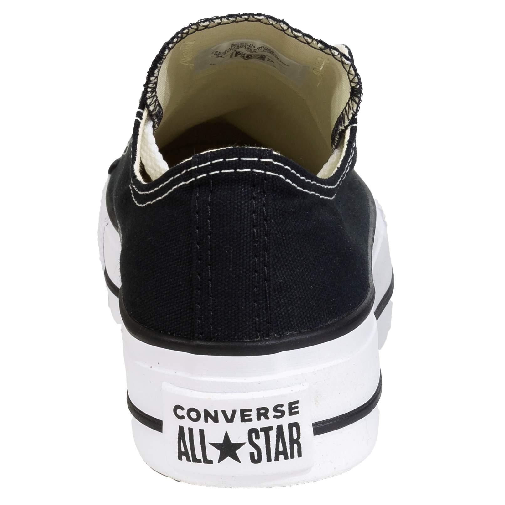 Tênis Converse All Star Chuck Taylor Preto Plataforma