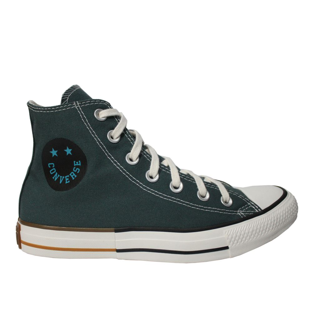 Tênis Converse All Star Chuck Taylor Verde Cano Longo
